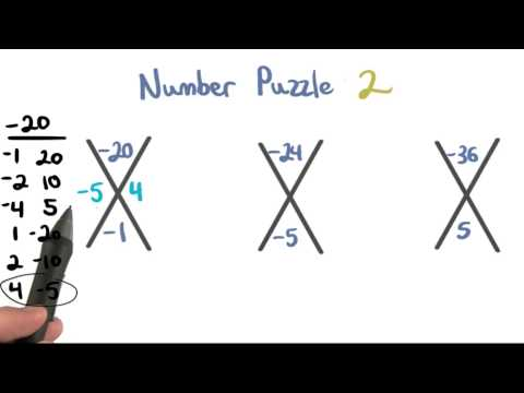 Number Puzzle 2 - Visualizing Algebra thumbnail