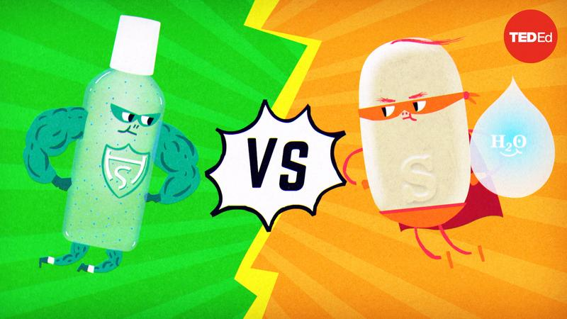 Which is better: Soap or hand sanitizer? thumbnail