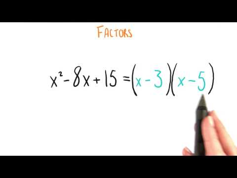 Finally Factoring - College Algebra thumbnail