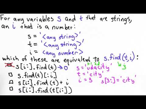 Finding with Numbers Quiz Solution - Intro to Computer Science thumbnail