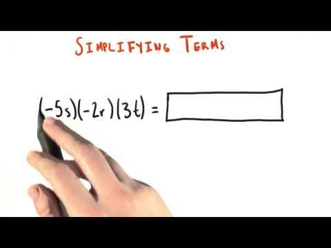 Simplifying - College Algebra thumbnail