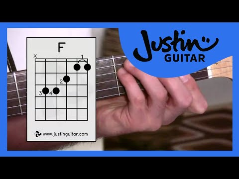 The Dreaded F Chord (Guitar Lesson BC-161) Guitar for beginners Stage 6 thumbnail