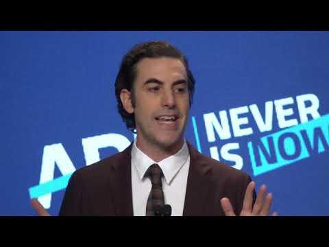 ADL International Leadership Award Presented to Sacha Baron Cohen at Never Is Now 2019 thumbnail