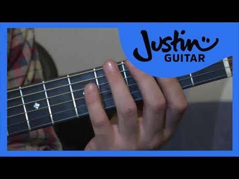 Major Scale Pattern 1 (Guitar Lesson  IM-113) How to play IF Stage 1 thumbnail