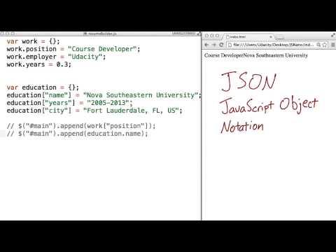 JSON - JavaScript Basics thumbnail
