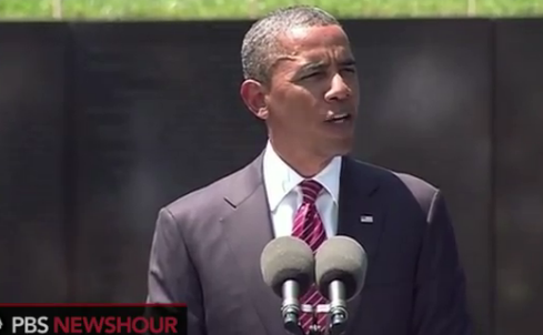 Watch President Obama's Speech at the Vietnam War Memorial thumbnail