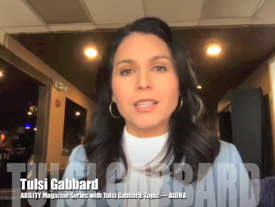 Interview Topic: Aloha - Tulsi Gabbard thumbnail
