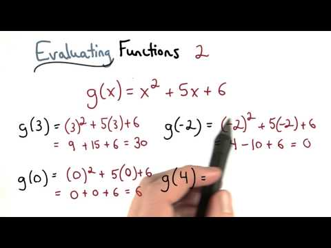 Evaluate Functions 2 - Visualizing Algebra thumbnail