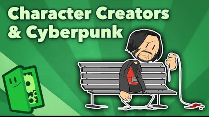 Character Creators & Cyberpunk - Player Freedom in Expression - Extra Credits