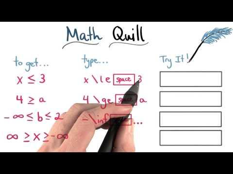 Math Quill Inequalities - Visualizing Algebra thumbnail