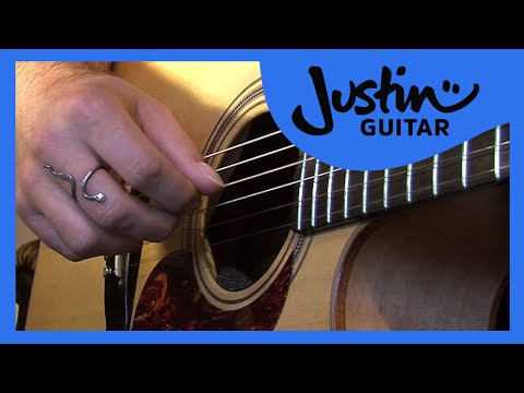 Folk Fingerstyle Patterns #2of2 (Folk Guitar Lesson FO-102) How to play thumbnail