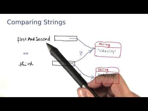 Comparing Strings - Intro to Java Programming thumbnail