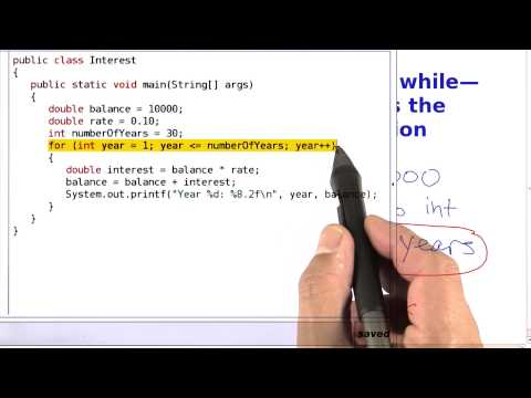 For or While - Intro to Java Programming thumbnail