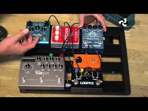 Wiring my FX loop pedal board (Guitar Lesson GG-124) How to thumbnail