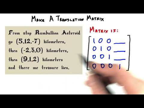 Make a Translation Matrix - Interactive 3D Graphics thumbnail