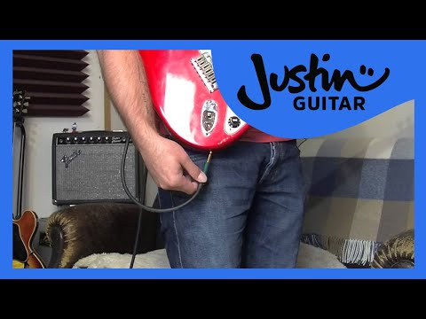 Guitar Quick Tip #1: Secure Your Cable (Guitar Lesson QT-001) thumbnail