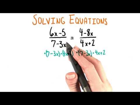 Multiplying by Denominator - College Algebra thumbnail