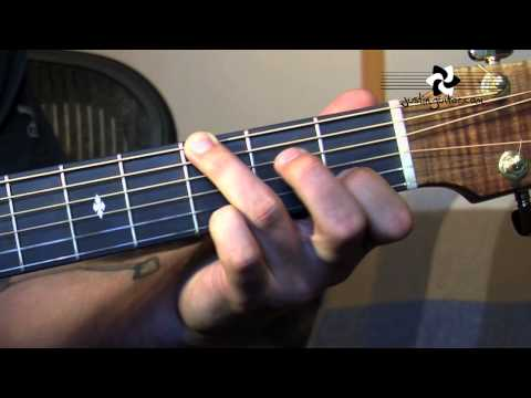 Fingerstyle Major Chord Scale Relations (Folk Guitar Lesson FO-104) How to play thumbnail
