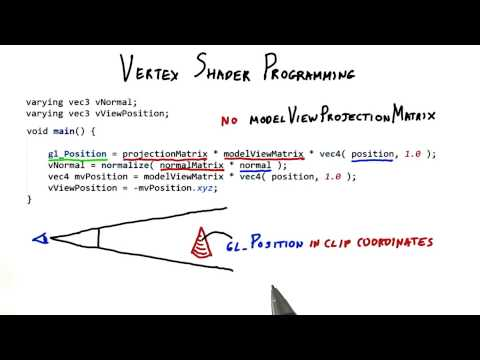 Vertex Shader Programming - Interactive 3D Graphics thumbnail