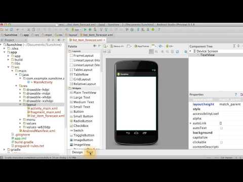 Add ListItem XML - Developing Android Apps thumbnail