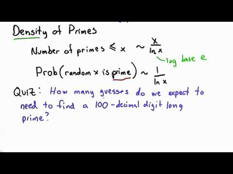 Density Of Primes - Applied Cryptography thumbnail