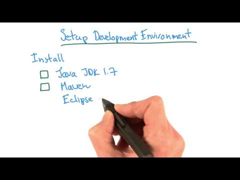 Setup Development Environment - Developing Scalable Apps with Java thumbnail