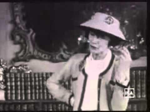 0e1f1b10fde Coco Chanel habla sobre la elegancia (con subtítulos en español)
