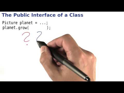 Public Interfaces - Intro to Java Programming thumbnail