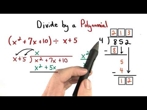 Long Division of Polynomials - Visualizing Algebra thumbnail