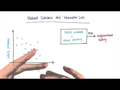 Maximal Variance and Information Loss - Intro to Machine Learning thumbnail