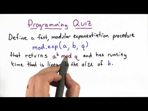 Modular Exponentiation Quiz - Applied Cryptography thumbnail