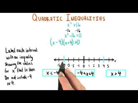 Number Line 1 - College Algebra thumbnail