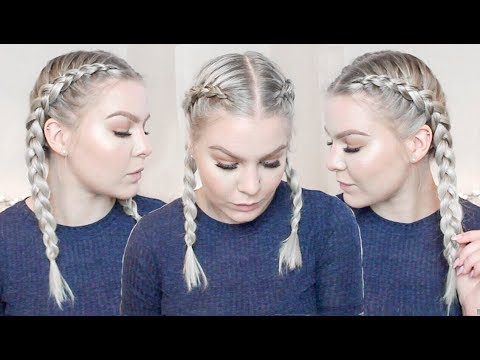 How To Dutch Braid Your Own Hair Step By Step For Complete Beginners - FULL TALK THROUGH thumbnail