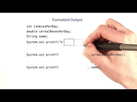 Practice Formatted Output - Intro to Java Programming thumbnail