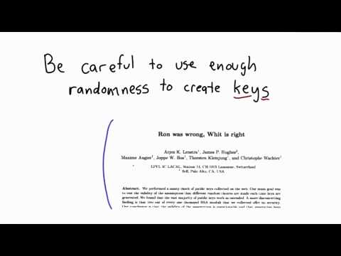 Weak PRNGs - Applied Cryptography thumbnail