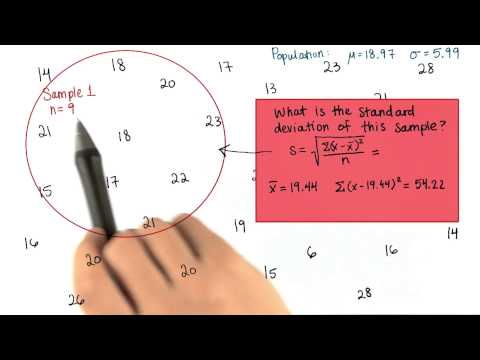 Sample SD - Intro to Descriptive Statistics thumbnail