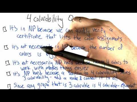 4-Colorabiity - Intro to Algorithms thumbnail