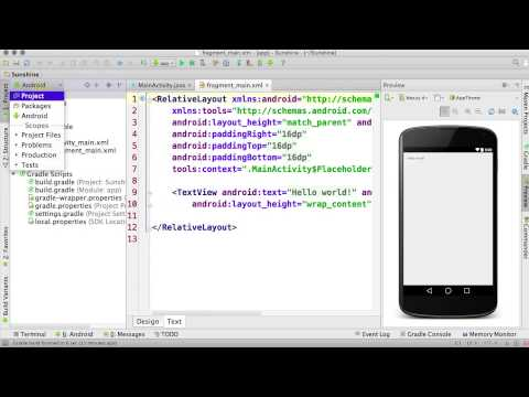Finish Creating a New Project - Developing Android Apps thumbnail
