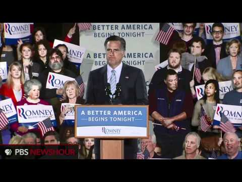 Mitt Romney Gives Primary Victory Speech on Verge of General Election thumbnail