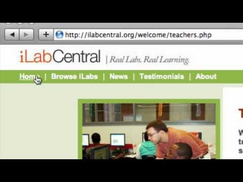 Using the iLabCentral resource - Technical glossary thumbnail