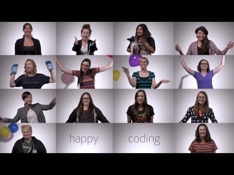 Girls Who Code Graduation Salutation from GitHub thumbnail