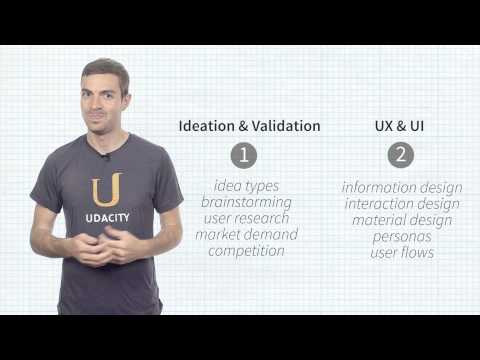 Product Course Overview  Product Design  Udacity thumbnail