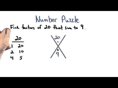 Number Puzzles - Visualizing Algebra thumbnail