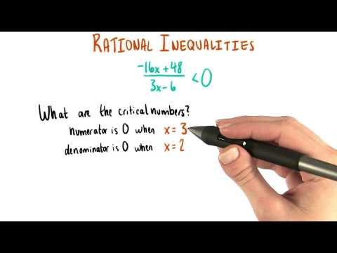 Numerator and Denominator Zero - College Algebra thumbnail