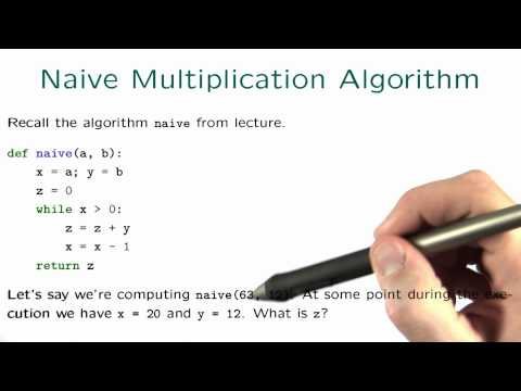 Naive Multiplication Algorithm - Intro to Algorithms thumbnail