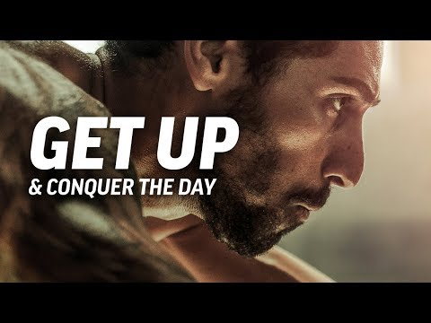 GET UP AND CONQUER THE DAY - Powerful Motivational Speech Video (Featuring Mat Wilson) thumbnail