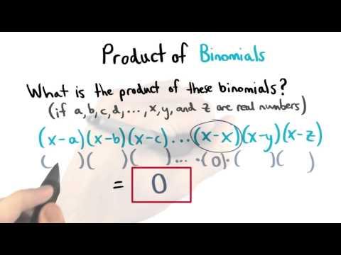 Zero Product Property - Visualizing Algebra thumbnail