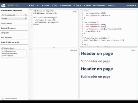 CSS Variables in Firefox 29 (Nightly) thumbnail