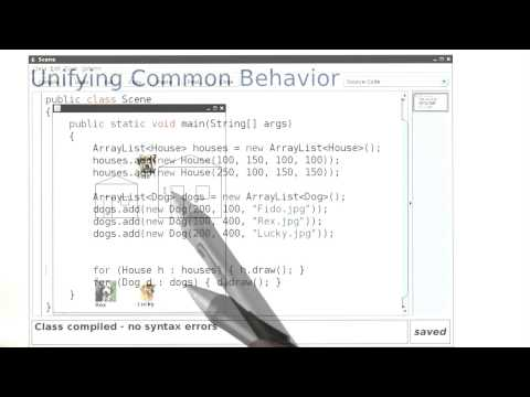 Unifying Common Behavior - Intro to Java Programming thumbnail