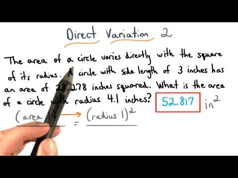 Direct Variation Practice 2 - Visualizing Algebra thumbnail